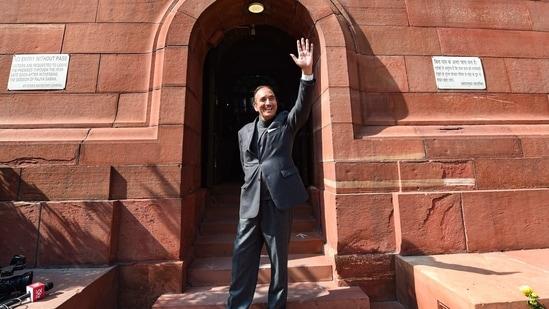 Senior Congress leader Ghulam Nabi Azad.(PTI)