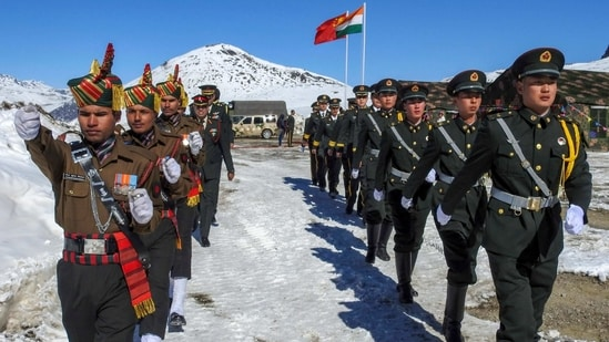"""Defence minister Rajnath Singh told Parliament that India expected China to """"work with us in full sincerity to resolve remaining issues"""" since """"the Chinese side is also fully aware of our resolve"""" to protect New Delhi's interests(PTI)"""