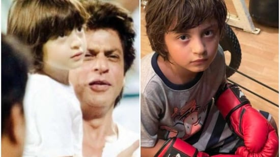Shah Rukh Khan often posts about his family.