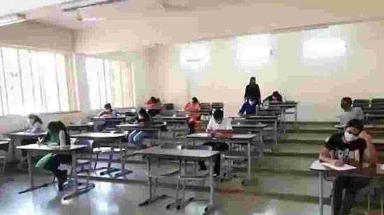 Around 9 lakh candidates have registered for the JEE Mains 2020 examinations, which will be conducted till September 6, 2020.(ANI file)