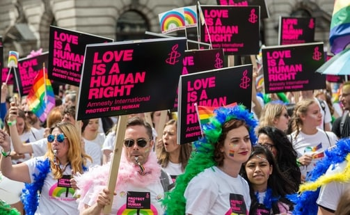 The European Union has also criticised the zones, which began appearing in 2019 when Poland's nationalist government started campaigning against the rights of lesbian, gay, bisexual and transgender people.(Unsplash)