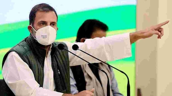 Image result for Rahul Gandhi asks Government should scrap farm laws