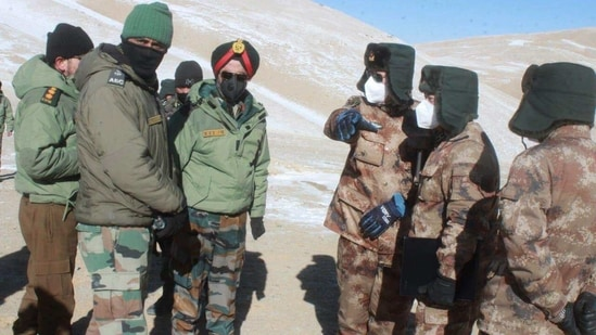 India and China have reached an agreement on disengagement in the North and South banks of Pangong lake in eastern Ladakh that mandates both sides to cease forward deployment of troops.(ANI)
