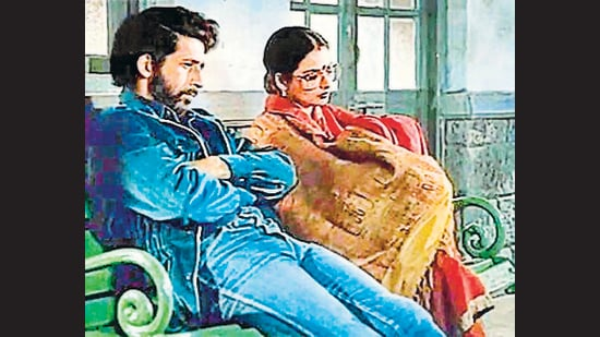 In Hindi cinema, the railways have been both the setting and the metaphor. In the 1987 film Ijaazat, a divorced couple spends a night at a railway station, laying their ghosts to rest.