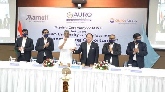 AURO University, Surat, is one of the fastest growing universities in Gujarat.