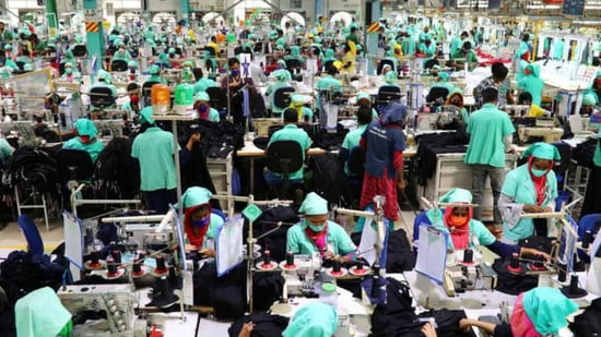 The Circular Fashion Partnership, announced this week, brings together more than 30 international brands, Bangladeshi recycling firms and garment manufacturers in a push to reuse textile waste from clothing factories to create new products.(Reuters)
