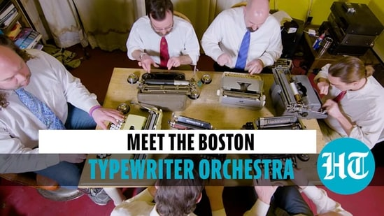 A different set of keys: Meet the Boston Typewriter Orchestra