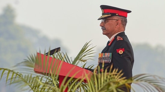 Chief of Army Staff Gen Manoj Mukund Naravane.(PTI)