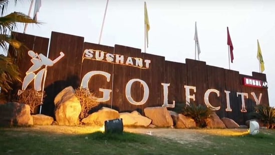 Registration for two housing projects of Ansal API Ltd in Sushant Golf City, Lucknow has been cancelled.(Source: Sushant Golf City website)