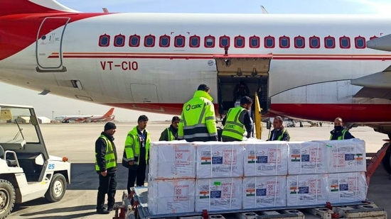 The supplies under the Vaccine Maitri initiative, which began on January 21, have earned India considerable goodwill, especially in small countries such as the Commonwealth of Dominica. (TWITTER/@MEAIndia).