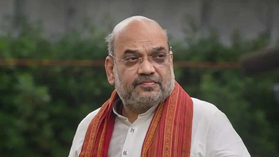 Home Minister Amit Shah.(PTI file)