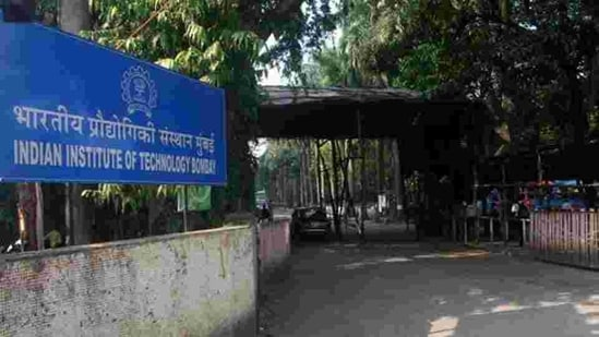 IIT Bombay in Powai, Mumbai. (HT Archive)