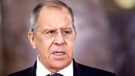 """Asked if Russia is heading toward a split with the European Union, Lavrov replied, """"We proceed from the assumption that we are ready for that.""""(AP)"""