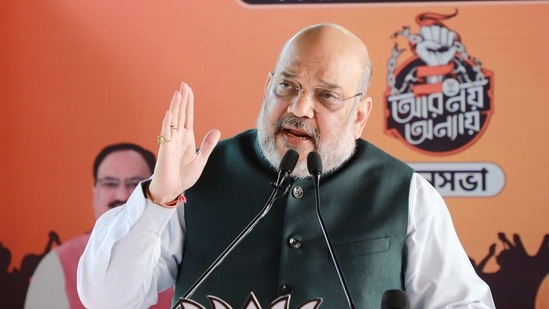 Union Home Minister Amit Shah.(ANI)