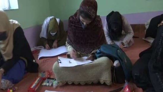 Girls, differently-abled children participate in art ...
