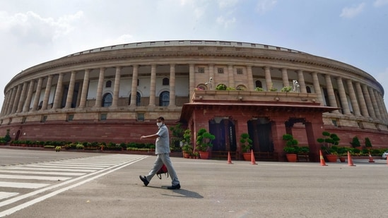 The recess allows department-related standing committees to examine demands for grants of various ministries. The Finance Bill and related demands for grants are passed in the second phase of the Budget session.(HT File)