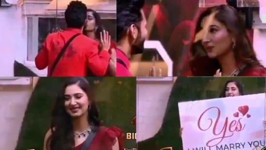 Disha Parmar will be seen accepting Rahul Vaidya's proposal on Bigg Boss 14 Weekend Ka Vaar episode.