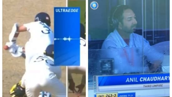 Third umpire Anil Chaudhary faced flak from the cricketing fraternity and Twitter users for his error