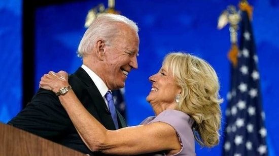 Joe and Jill Biden give relationship advice(AP)