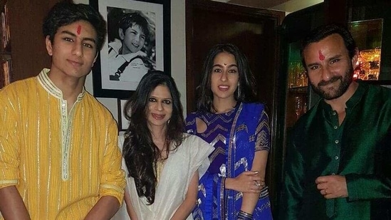 Saba Ali Khan shared precious family memories on Instagram.
