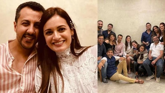 Dia Mirza attended a get-together ahead of her reported wedding with Vaibhav Rekhi.