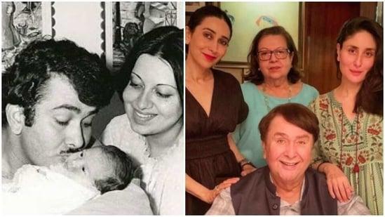Randhir Kapoor and Babita separated in 1988.