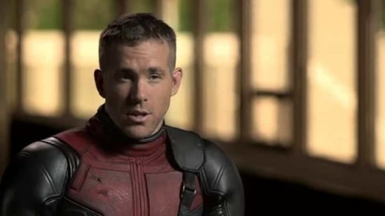Ryan Reynolds plays the titular foul-mouthed superhero in Deadpool.