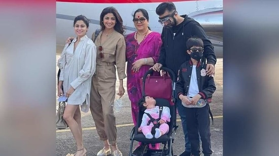 Shilpa Shetty and Raj Kundra's baby girl Samisha turns one: 10 times she melted hearts with her cuteness - Hindustan Times