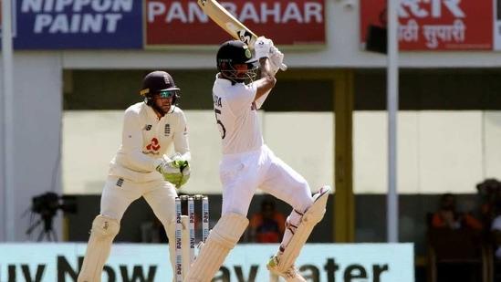 India's Cheteshwar Pujara plays a shot.((ICC/ANI))