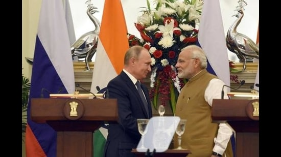 Preventing the emergence of a hegemon in Eurasia without Russia, given its size and resources, is well-nigh impossible. (Sonu Mehta/HT PHOTO)