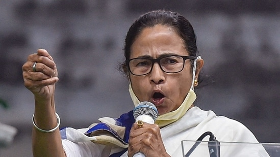 West Bengal chief minister Mamata Banerjee.(PTI)