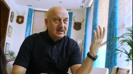 In June 2021, actor Anupam Kher will complete 40 years in the film industry and he has recently wrapped up shooting for the film, Kashmir Files that's based on the mass exodus of Kashmiri Pandits.