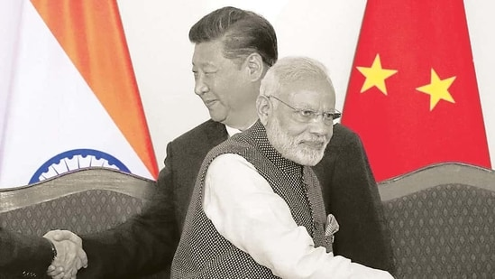 Last week, India and China began disengagement from the Pangong Tso area, in the Ladakh region of the western Himalayas.(AP)