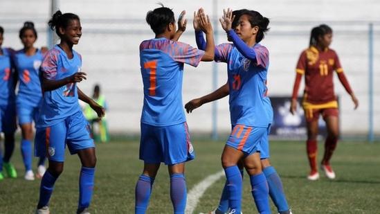 Indian women's football team(Indian Football Team / Twitter)