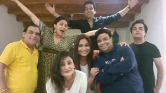 Kavita Kaushik celebrates her 40th birthday with the F.I.R. gang