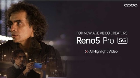 With the OPPO Reno5 Pro 5G in his hand and an out-of-the-box thought in mind, Imtiaz Ali produced a heart-warming short film that will pave the way for other creators to follow suit.(OPPO)