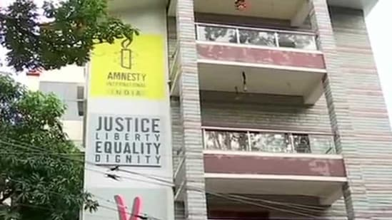 The Central Bureau of Investigation on Friday raided the Bengaluru offices of Amnesty International India(ANI/Twitter)
