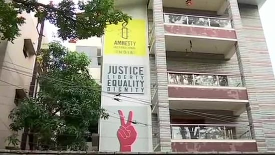 The Central Bureau of Investigation on Friday raided the Bengaluru offices of Amnesty International India.(ANI/Twitter)