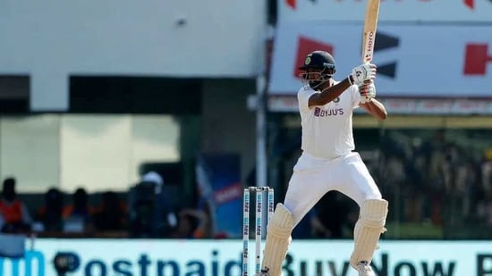 India's R Ashwin cuts for a four. (BCCI)