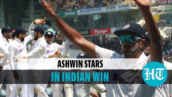 India beat England by 317 runs in the second test to level the series 1-1