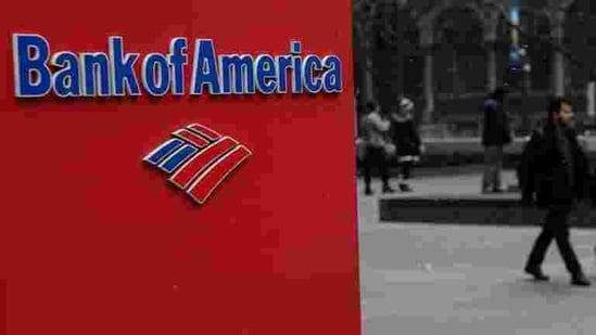 A Bank of America logo is pictured in the Manhattan borough of New York City, New York (REUTERS).