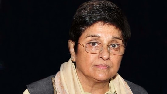 Kiran Bedi was replaced as the Lieutenant Governor of Puducherry, with the Telangana governor being given the additional charge of the UT.(HT Photo)