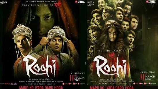 Roohi posters are out now.