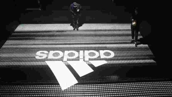An Adidas logo is seen at the new Futurecraft shoe unveiling event in New York City, New York, U.S. April 6, 2017. REUTERS/Joe Penney(REUTERS)
