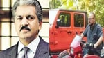 The caption Anand Mahindra shared explains more about the vehicle and his concerns regarding the title of 'jugaad champions ' bestowed upon Indians(Twitter/@anandmahindra)