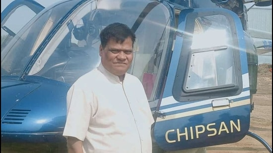 Bhoir said he has got permission from the Thane collector and police commissioner to bring the helicopter and develop the helipad on a three-acre plot. (Sourced)