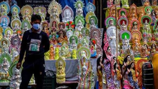 Basant Panchami, the festival which marks the arrival of the spring season in India, celebrated this year on February 16.(AP | Representational image)