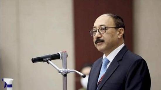 Foreign secretary Harsh Shringla. (File photo)
