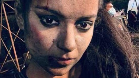 Kangana Ranaut is currently filming Dhaakad.