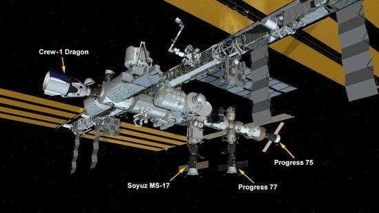 NASA in a blogpost said that the Russian Progress 77 spacecraft is carrying these items to aid Expedition 64 crew members.(Twitter/ISS)